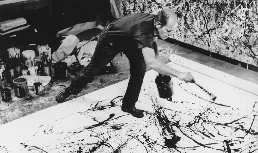 2014 08 The beauty of creativity - Pollock in action