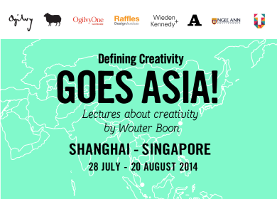 Defining Creativity goes Asia!