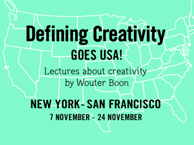 Defining Creativity goes USA!